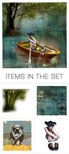 """""""Lazing on a Sunday Afternoon"""" by aunt-kiki ❤ liked on Polyvore featuring art"""