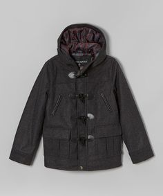 Another great find on #zulily! Charcoal Toggle Coat - Infant & Boys by Urban Republic #zulilyfinds