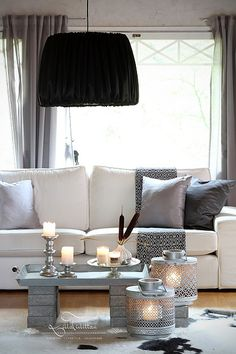 Tine K DIY lamp by Lilla Tirlittan blogger Katja