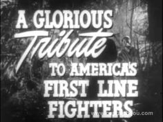 """Trailers for """"Calamity Jane"""", """"California"""", """"Jungle Book"""", """"Fighting Phantom"""", """"Decameron Nights"""" and """"Bela Lugosi Meets A Brooklyn Gorilla"""". Trailers are fr. Marine Raiders, Rock Hudson, Movie Titles, Fiction, Novels, Lettering, Youtube, Usmc, Trailers"""