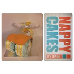 YELLOW TRICYCLE CAKES