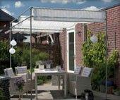 1000 images about terras overkapping on pinterest tuin verandas and pergolas - Pergola met intrekbaar canvas ...