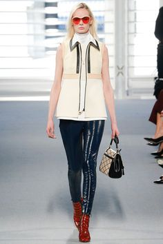 Louis Vuitton Fall 2014 Ready-to-Wear Collection Slideshow on Style.com.   ~      Hmmmmm...