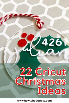 Get inspired by these 22 Cricut Christmas Ideas! A combination of videos, tutorials, and photos of both festive holiday gifts and also decorations for the most wonderful time of the year. The ideas include: -gifts -personalized crafts -monogram ideas -Christmas decorations -ornament ideas #cricutchristmas #cricutmaker #cricutjoy #diy #crafter #christmasgifts #christmasdecorations #heatpresscrafts #cricutcrafts