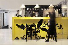 Kaffa Roastery - Microroastery & espressobar with best coffee in Hwlsinki @ Pursimiehenkatu, Punavuori.