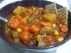 Cooking Gluten (& Dairy) Free: Stew {Crock Pot}