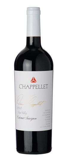 Chappellet Cabernet Sauvignon Signature Napa 2012 -Nose of red and black cherry, vanilla, baking spice. On the palate sweet cherry and vanilla, very smooth tannins.