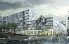 BCD Ensemble immobilier de bureaux | chartier dalix