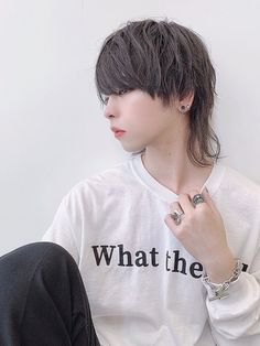 Mullet Haircut, Mullet Hairstyle, Asian Men Hairstyle, Japanese Hairstyle, Wedge Hairstyles, Easy Hairstyles, Girl Hairstyles, Cut My Hair, New Hair
