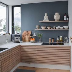 31 Modern Kitchen Area Ideas Every Residence Prepare Requirements to See Cosy Kitchen, Rustic Kitchen Cabinets, Scandinavian Kitchen, Kitchen Interior, New Kitchen, Kitchen Decor, Home Living, Kitchen Living, Casa Milano