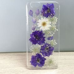 Pressed Flowers Case F160401008 - Real Flower Pressed - Phone Case