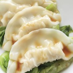 These Chinese pork dumplings are a delicious appetizer idea.
