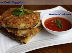 Low Carb Fried Eggplant