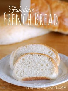 Homemade French Bread-- An easy recipe for delicious bread! --from creationsbykara.com