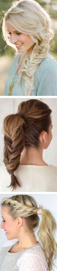 Braided Ponytail Hairdo ❤︎