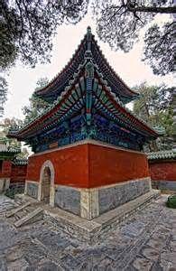Beihai Park temple, Beijing