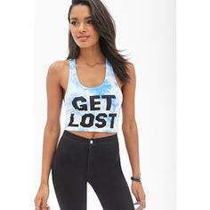 e4d1ff4826adf  Get Lost  crop top crop top has never been worn. Made out of cotton