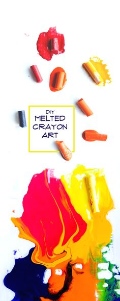 What's my new favorite thing?? Melted Crayon Art! Here's how we do it: http://www.shutterbean.com/2017/melted-crayon-art/