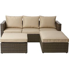 Garden Furniture Next buy palermo grey right hand corner sofa set from the next uk