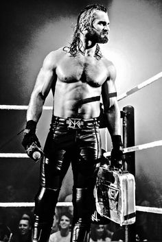 Seth Rollins best in ring performer on the roster Today. Amazing physique and absolutely THE top heel in the business today. Guy's grabbed multiple brass rings on multiple occasions, Future World Champion #Mr Money In The Bank