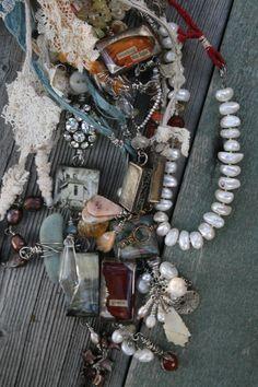 Necklaces by Stephanie Lee  http://stephanielee.typepad.com/stephanie_lee_studios/