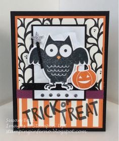 What Will You Stamp?: WWYS Challenge #32 // Howl-O-Ween Treat.