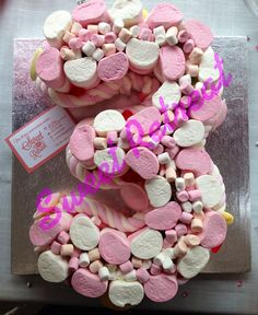 Number 3 sweetie cake - This is what we got Sienna for her 3rd birthday! She loved it :) and so did mummy haha x