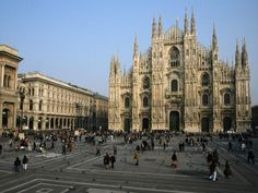 Milan, Italy.  Fourth city I served in on my mission.  This is the Duomo, Milan's most famous landmark.