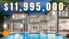Best Home of 2020? Brand New South Florida Mansion | $11.9M New South, South Florida, Florida Mansion, Dream Mansion, Home Goods, Youtube Banners, Brand New, Mansions, Interior Design