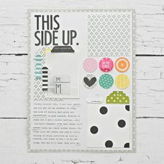 Bella Blvd Oh My Stars Collection | This Side Up layout by Stephanie Buice