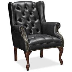 Wyndham Tufted Button Accent Chair - Black