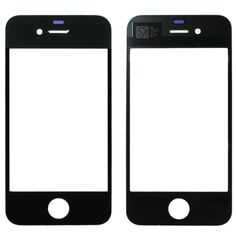 [USD0.85] [EUR0.76] [GBP0.61] Mirror Spare Parts for iPhone 4(Black)