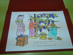 Cuaderno sobre la elaboración del vino.