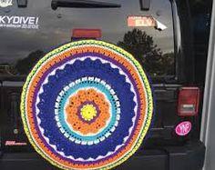 Image result for wheelchair wheel covers made from crochet Wheel Cover, Blanket, Chair, Crochet, Image, Ganchillo, Stool, Blankets, Cover