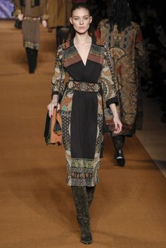 Etro Fall - Winter 2014/2015 Milan Fashion Week