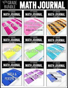 This math journal bu