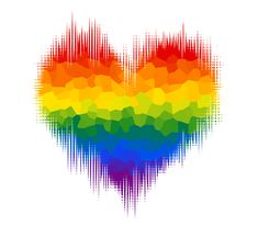 Gay Glitch Heart by Pride-Flags on DeviantArt Rainbow Wallpaper, Cute Wallpaper Backgrounds, Love Wallpaper, Cute Wallpapers, Love Rainbow, Rainbow Art, Rainbow Colors, Lgbt Flag, Gay Aesthetic