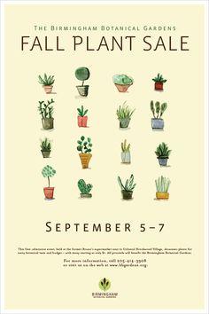 botanical gardens identity by karen gathany. Asian Graphic Design.