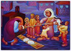Bu artist, painter Ibrahim Balaban, from Turkey. Bernard Shaw, Artsy, Painting, Google, Painting Art, Paintings, Painted Canvas, Drawings