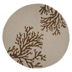 Grant I O GD02 Bough Out Beige / Brown Rug
