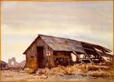 Shell-wrecked YMCA Hut
