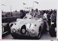 Bugatti 57 C Tank Le Mans victory at first Le Mans, 1939