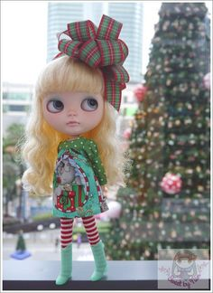 Have a very Merry Blythe Christmas by Jane on Etsy