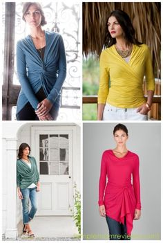 These Lilla P tops look really flattering!  I have a dress they made that is so comfortable and pretty!