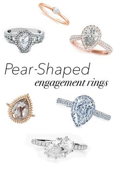 Stunning Pear Shaped Engagement Rings | Brides.com