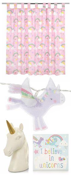 New Unicorn Kids Bedding Room Accessories Asda George