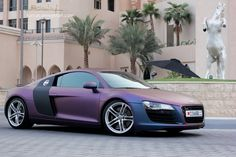 August 2012 - R8 of the MONTH- Must find out how to get this paint/wrap.