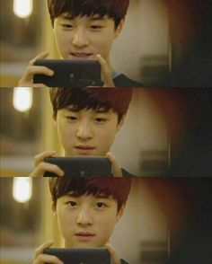 Imagine him taking a pic of you Handsome Actors, Handsome Boys, Taemin, Shinee, Popular Korean Drama, Dream School, While You Were Sleeping, Child Actors, I Have A Crush