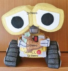 Personagem Wall-e da Apostila Personagens 1 - Wall-e Eva