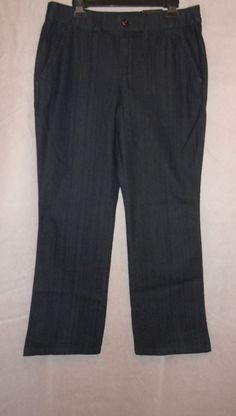 Women Pents Intro Love The Fit Dress Casual Classic Size 12 Boot Cut Stretch New #IntroLoveTheFit #BootCut